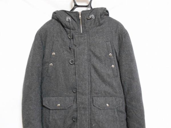 ティーケータケオキクチ ダウンコート サイズ3 L メンズ ダークグレー 冬物