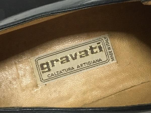 gravati(グラバティ) シューズ 6 メンズ 黒 レザー