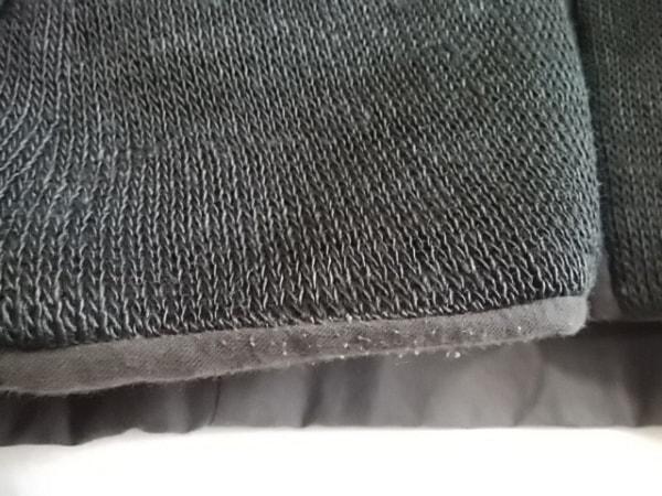 トリココムデギャルソン ジャケット レディース 黒×ダークブラウン