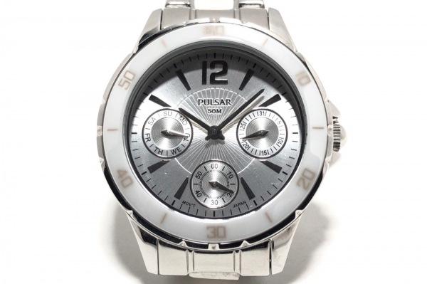 PULSAR(パルサー) 腕時計 クラシック ドレス スポーツ ウォッチ VD75-X014 レディース