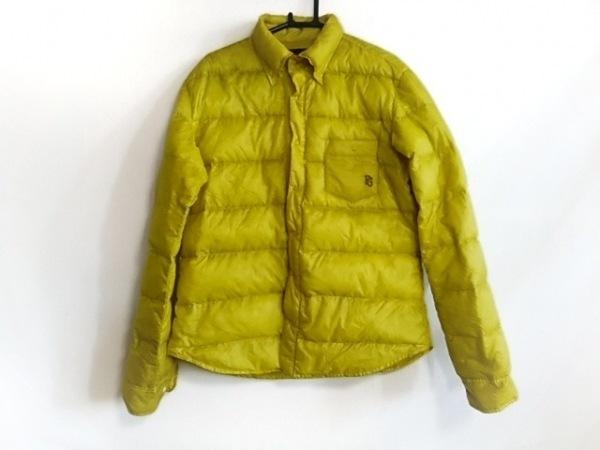 パーリーゲイツ ダウンジャケット サイズ4 XL メンズ美品  ライトグリーン 薄手/冬物