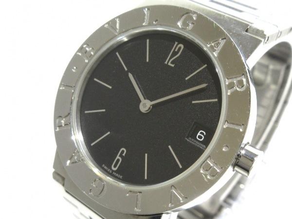 BVLGARI(ブルガリ) 腕時計 ブルガリブルガリ BB30SS レディース 黒