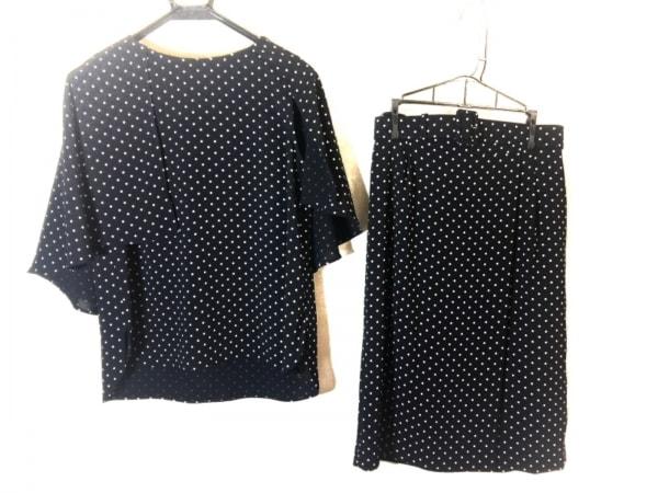 ダーマコレクション スカートセットアップ サイズ9 M レディース美品  黒×白