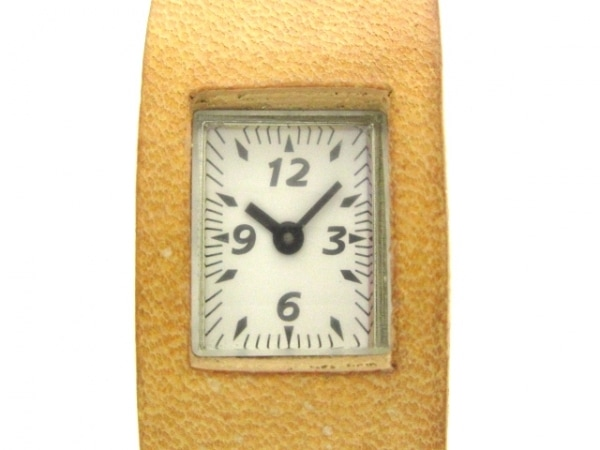 ZUCCA(ズッカ) 腕時計 - V220-643A レディース CABANEdeZUCCA/革ベルト 白