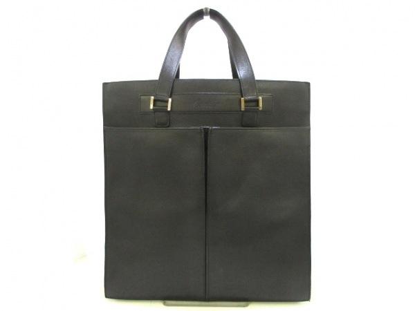 Cartier(カルティエ) トートバッグ - 黒 レザー