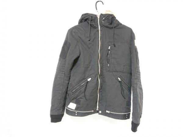 アンダーカバー ダウンジャケット サイズ2 M メンズ 黒 冬物/UNDERCOVERISM