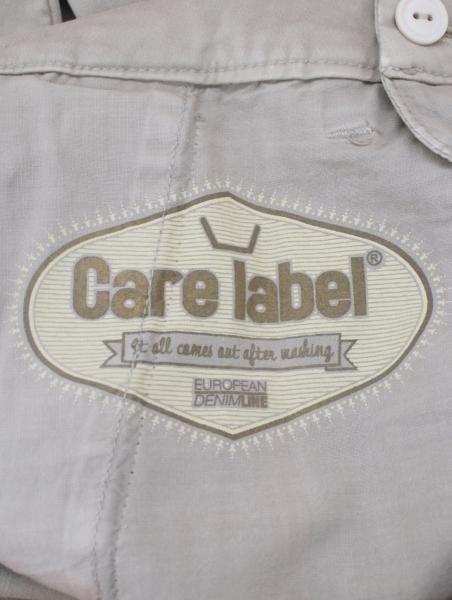 CARE LABEL(ケア レーベル) パンツ サイズ27 M レディース ベージュ 新品タグ