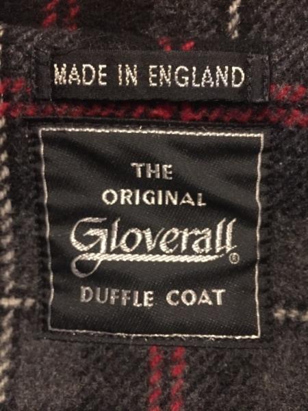 gloverall(グローバーオール) ダッフルコート メンズ 黒 冬物