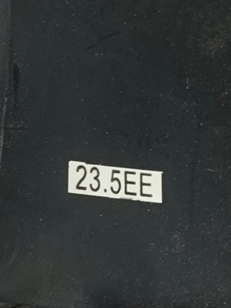 ハッシュパピーズ ローファー 23.5 レディース ダークグリーン エナメル(レザー)
