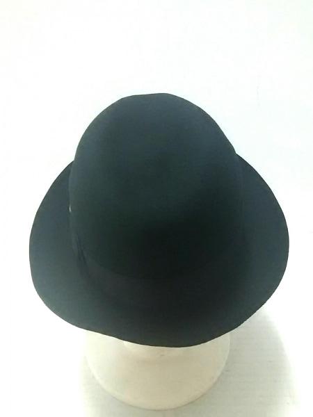 lucien pellat-finet(ルシアンペラフィネ) ハット M 黒 スカル/リボン ウール