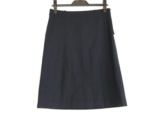 theory(セオリー) ミニスカート サイズ0 XS レディース 黒 プリーツ