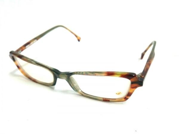 アラン・ミクリ メガネ A0128-03 ブラウン×ダークブラウン プラスチック