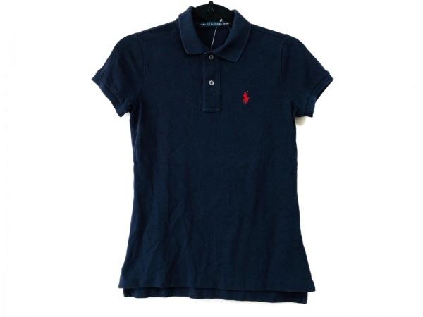 RalphLauren(ラルフローレン) 半袖ポロシャツ サイズXS レディース ネイビー