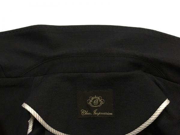 クリアインプレッション スカートスーツ サイズ1 S レディース美品  ダークネイビー