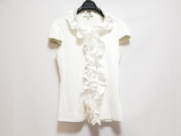 ナラカミーチェ ノースリーブシャツブラウス サイズ3 L レディース 白 フリル