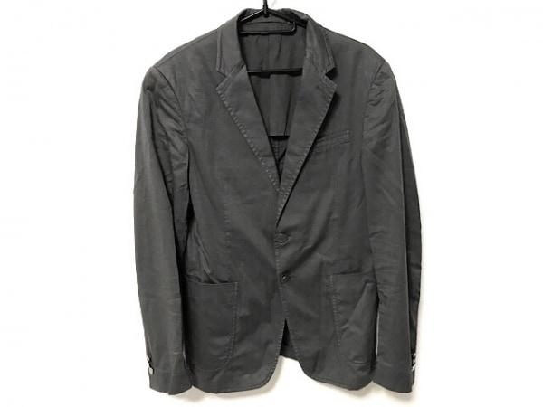 PRADA(プラダ) シングルスーツ サイズ46 S メンズ ダークグレー