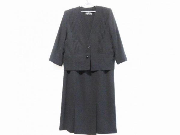 Tokyo Soir(トウキョウソワール) ワンピーススーツ サイズ15 L レディース 黒