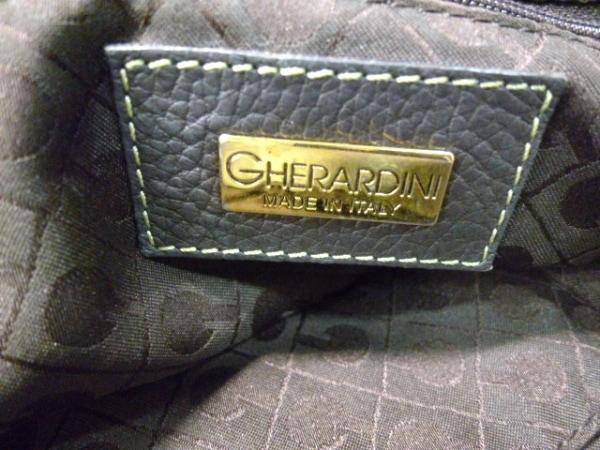 GHERARDINI(ゲラルディーニ) ショルダーバッグ ライトグリーン×黒 6