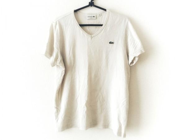 Lacoste(ラコステ) 半袖Tシャツ メンズ ベージュ