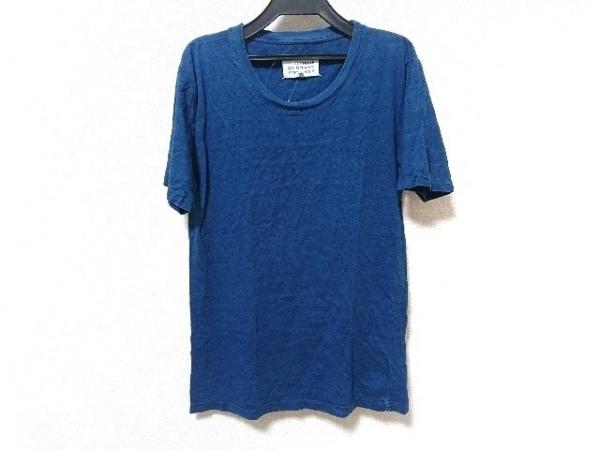 MARTIN MARGIELA(マルタンマルジェラ) 半袖Tシャツ サイズS メンズ ブルー