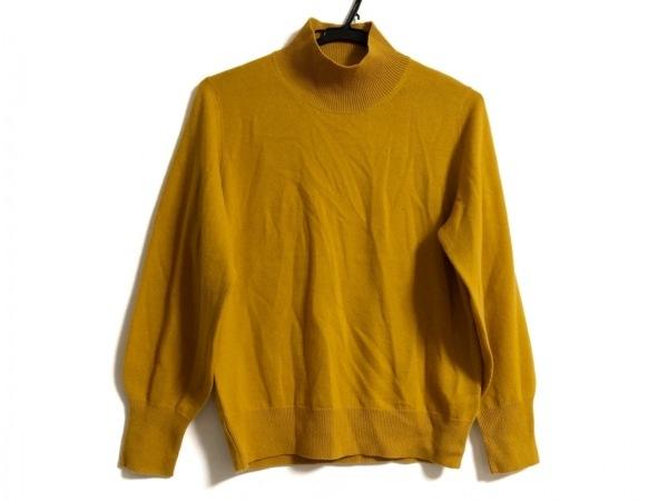 23区(ニジュウサンク) 長袖セーター サイズ38 M レディース イエロー ハイネック