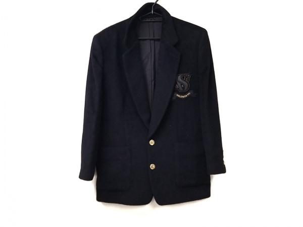 VALENZA PO(バレンザポー) ジャケット サイズ40 M メンズ美品  黒 肩パッド