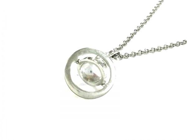 ヴィヴィアンウエストウッド ネックレス 金属素材×ガラス×ラインストーン オーブ
