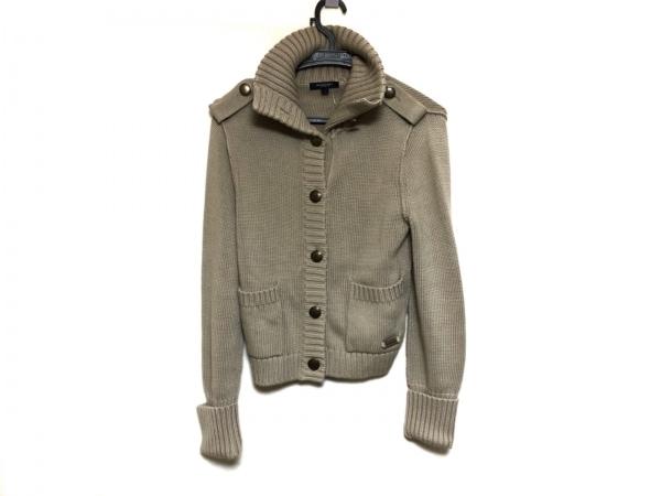 バーバリーロンドン ジャケット サイズ1 S レディース美品  ベージュ ニット