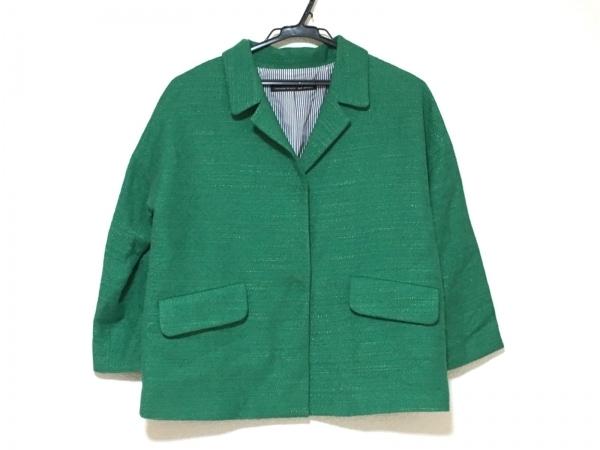 Spick&Span(スピック&スパン) ジャケット レディース美品  グリーン