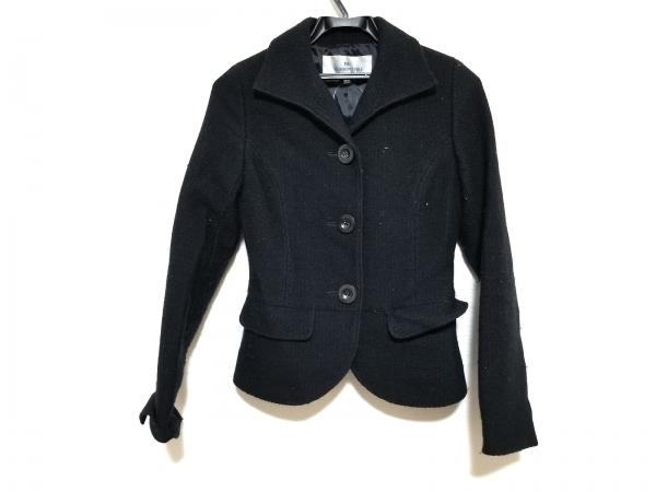 Viaggio Blu(ビアッジョブルー) ジャケット サイズ1 S レディース美品  黒