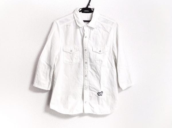 roar(ロアー) 七分袖シャツ サイズ2 M メンズ 白