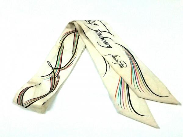 HERMES(エルメス) スカーフ ツィリー アイボリー×マルチ