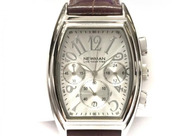 NEWMAN(ニューマン) 腕時計 - メンズ シルバー