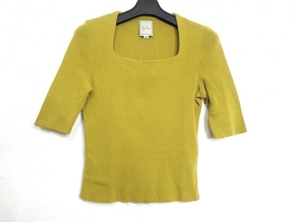 Sybilla(シビラ) 七分袖セーター サイズM レディース美品  カーキ