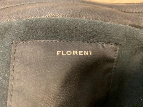FLORENT(フローレント) ライダースジャケット レディース 黒 冬物