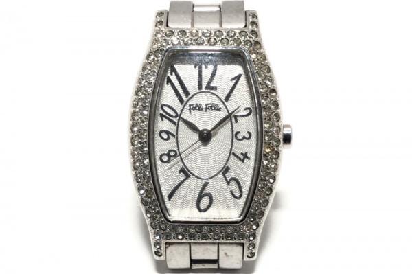 FolliFollie(フォリフォリ) 腕時計 WF5T084BPS レディース シルバー