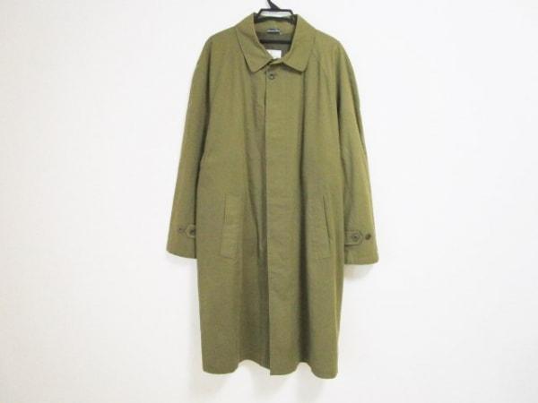 ErmenegildoZegna〜soft〜(ゼニア) コート サイズ50 メンズ カーキ 冬物