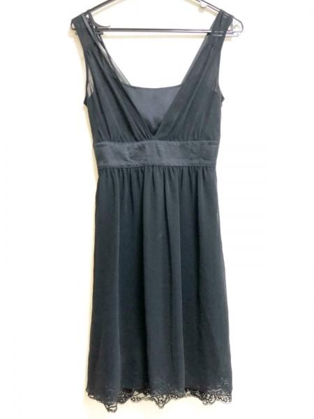 LEJOUR(ルジュール) ドレス サイズ36 S レディース 黒 レース/フリル