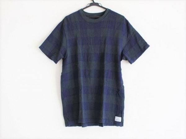 PaulSmith(ポールスミス) 半袖Tシャツ サイズXL メンズ グリーン×ネイビー