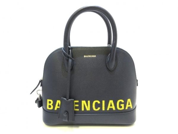 バレンシアガ ハンドバッグ ヴィル トップ ハンドル S 518873 カーフレザー