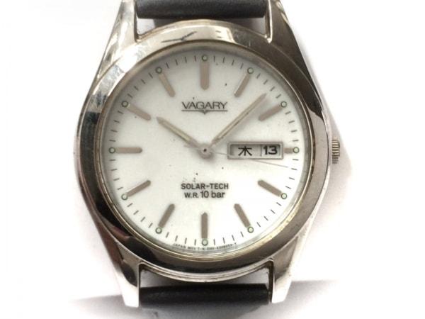 VAGARY(ヴァガリー) 腕時計 E101-K003857 メンズ 白