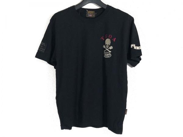 VANSON(バンソン) 半袖Tシャツ サイズM メンズ 黒