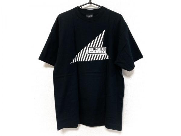ビリオネアボーイズクラブ 半袖Tシャツ サイズL メンズ美品  黒×白