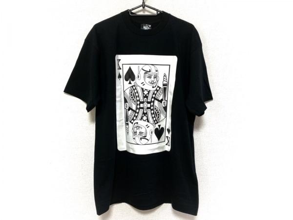 ビリオネアボーイズクラブ 半袖Tシャツ サイズL メンズ美品  黒×白×ネイビー