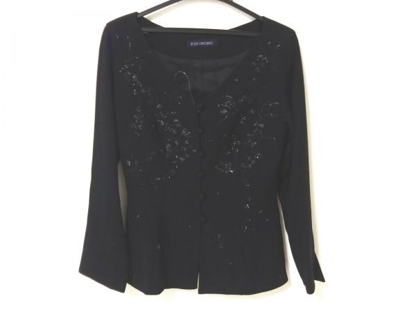 BODY DRESSING(ボディドレッシング) ジャケット レディース 黒 ビーズ/スパンコール