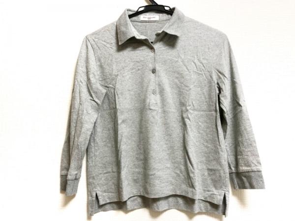 OLD ENGLAND(オールドイングランド) 長袖ポロシャツ サイズ36 S レディース グレー