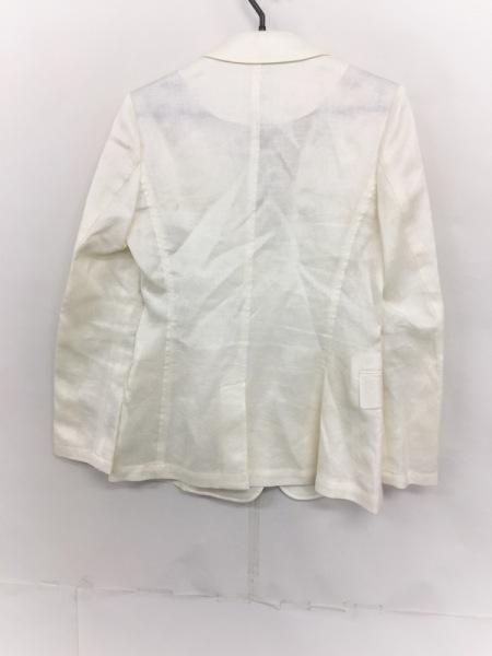 デュアルヴュー ジャケット サイズ40 M レディース美品  アイボリー 春・秋物