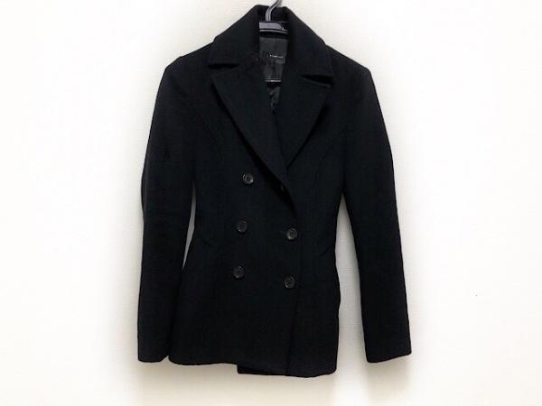 INTER PLANET(インタープラネット) コート サイズ38 M レディース 黒 ショート丈/冬物