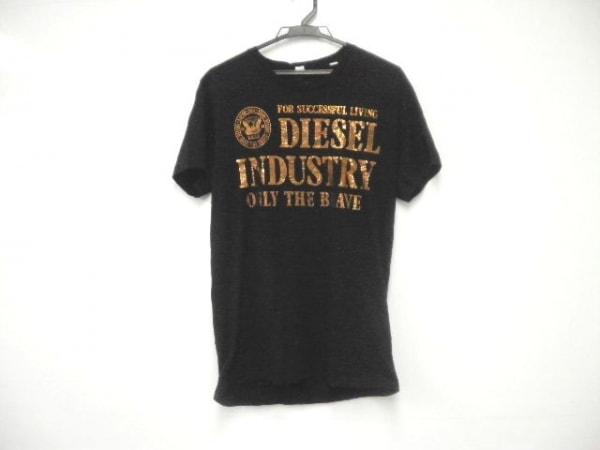 DIESEL(ディーゼル) 半袖Tシャツ サイズM メンズ 黒