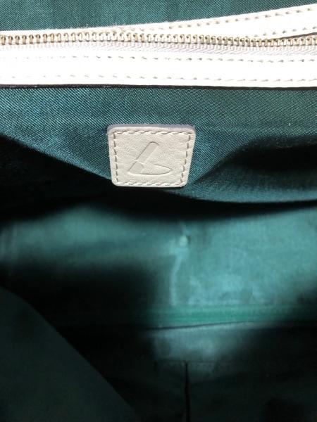土屋鞄製造所(ツチヤカバンセイゾウショ) ショルダーバッグ ライトグレー レザー